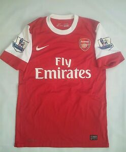 uk availability 72343 41cd9 Details about RARE NIKE DRI FIT AUTHENTIC FC ARSENAL LONDON