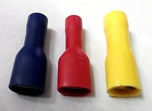 15amp 10amp Fully insulated 5amp Female spade terminals 20amp /& 35amp.