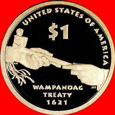 2011 S Native American//Sacagawea Dollar Deep Cameo Gem Proof