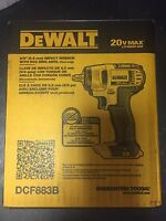 "Brand New DeWALT DCF883B 20v 3/8""  Cordless Impact Drill, Bare Tool"