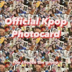 Cheap-Kpop-Official-Photocard-Bts-Nct-Mamamoo-Red-Velvet-ONF-Loona-Got7-Izone