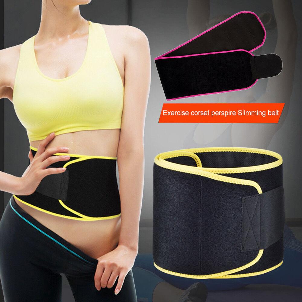 Fast Weight/Fat Losing Waist Sports Belt Slimming Band Body Shaper for Women Men 2