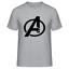 Avengers-Famous-Infinity-Film-de-guerre-Logo-T-Shirt-hommes-amp-femmes-tee miniature 5