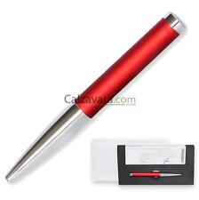 Sfera PARAFERNALIA® Shaker Ballpoint Pen - Astuccio in Acetato - Rosso - Red