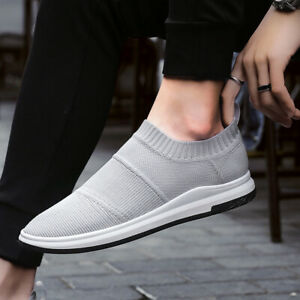 Details about Men Casual Shoes Outdoor Fashion Mesh Sock Shoes Breathable Sneakers Sports Ins