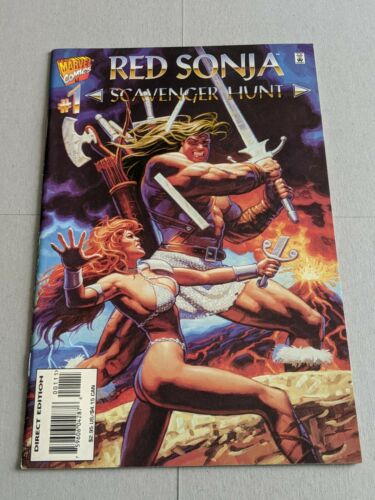 Red Sonja She-Devil With A Sword SCAVENGER HUNT #1 December 1995 Marvel Comics
