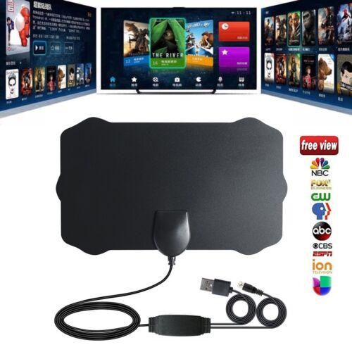 Digital Flat TV Antenna HD 4K 50//80 Mile Range Antena Digital Indoor HDTV 1080p