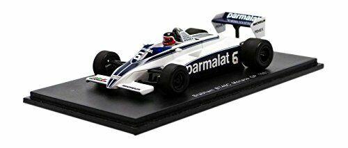 Brabham bt49c H. rebaque  1981  6 qns monaco gp 1 43 model s4348 spark model  magasin d'offre