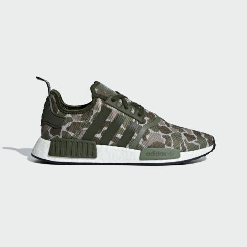 For The In Army Style D96617 Green Men Adidas Nmd New Shoes Box r1 R354AjL