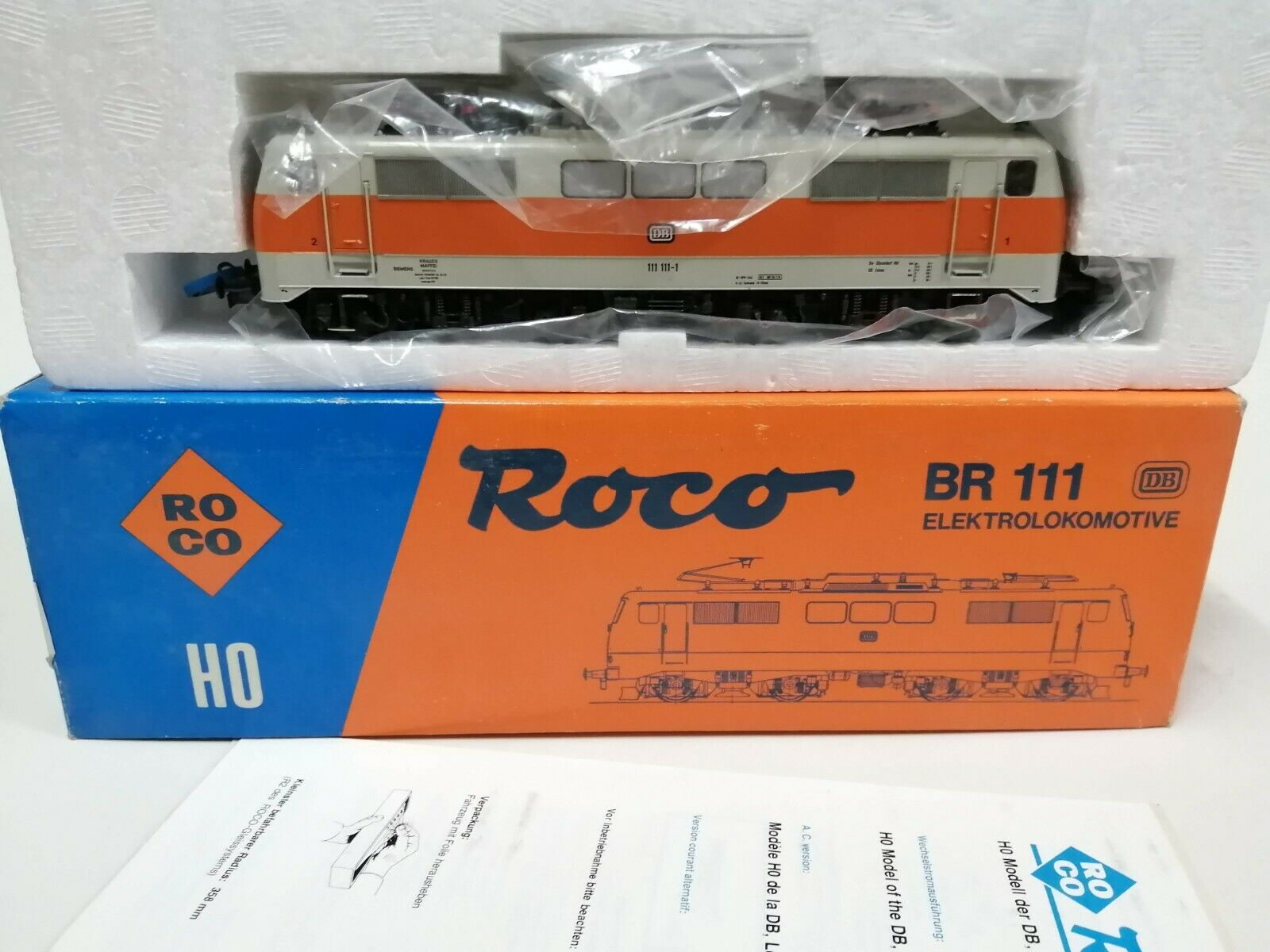 ROCO 4133b ELok BR 111 SBahn della DB OVPcon garanzia