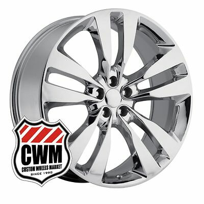 20x9 inch 2012 Dodge Charger SRT8 Style Chrome Wheels Rims for Challenger 08-14