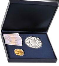 estuche ESPAÑA 50 + 5 euro 2013 proof Cincuentin + Plata dorada 75 aniv. Rey
