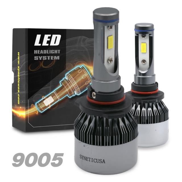 80 Watts 8000lm Cree Led Fog Lights Kit Lamp Bulbs 6000k