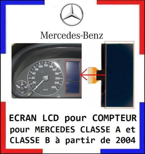 W245 livré en 48h... ECRAN LCD COMPTEUR ODB MERCEDES CLASSE A et B W169