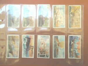 1911 Wills CELEBRATED SHIPS  famous boat Tobacco cigarette cards  50 card set