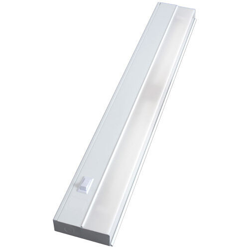 """New GE Fluorescent Light Fixture 10143 48/"""" Metal"""