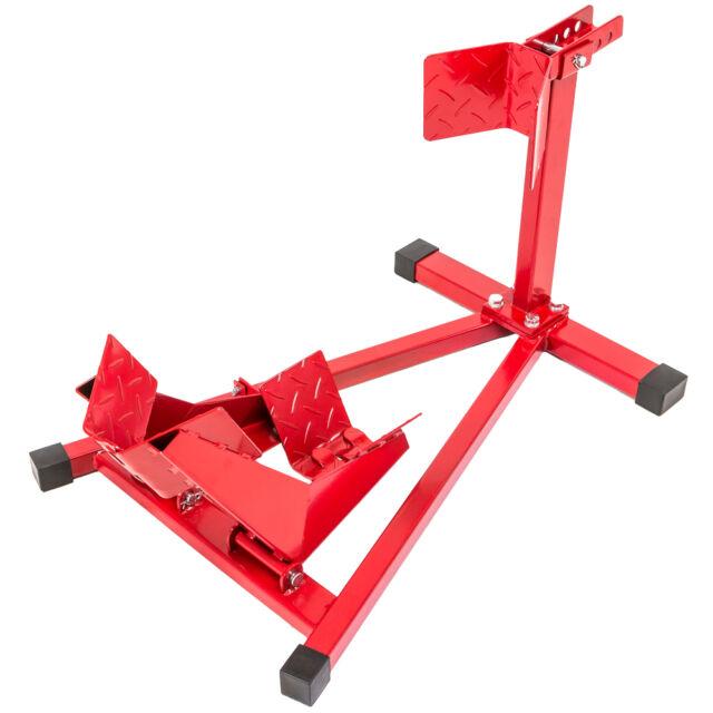 Béquille d'atelier roue avant leve moto lift de stand motocyclette universal
