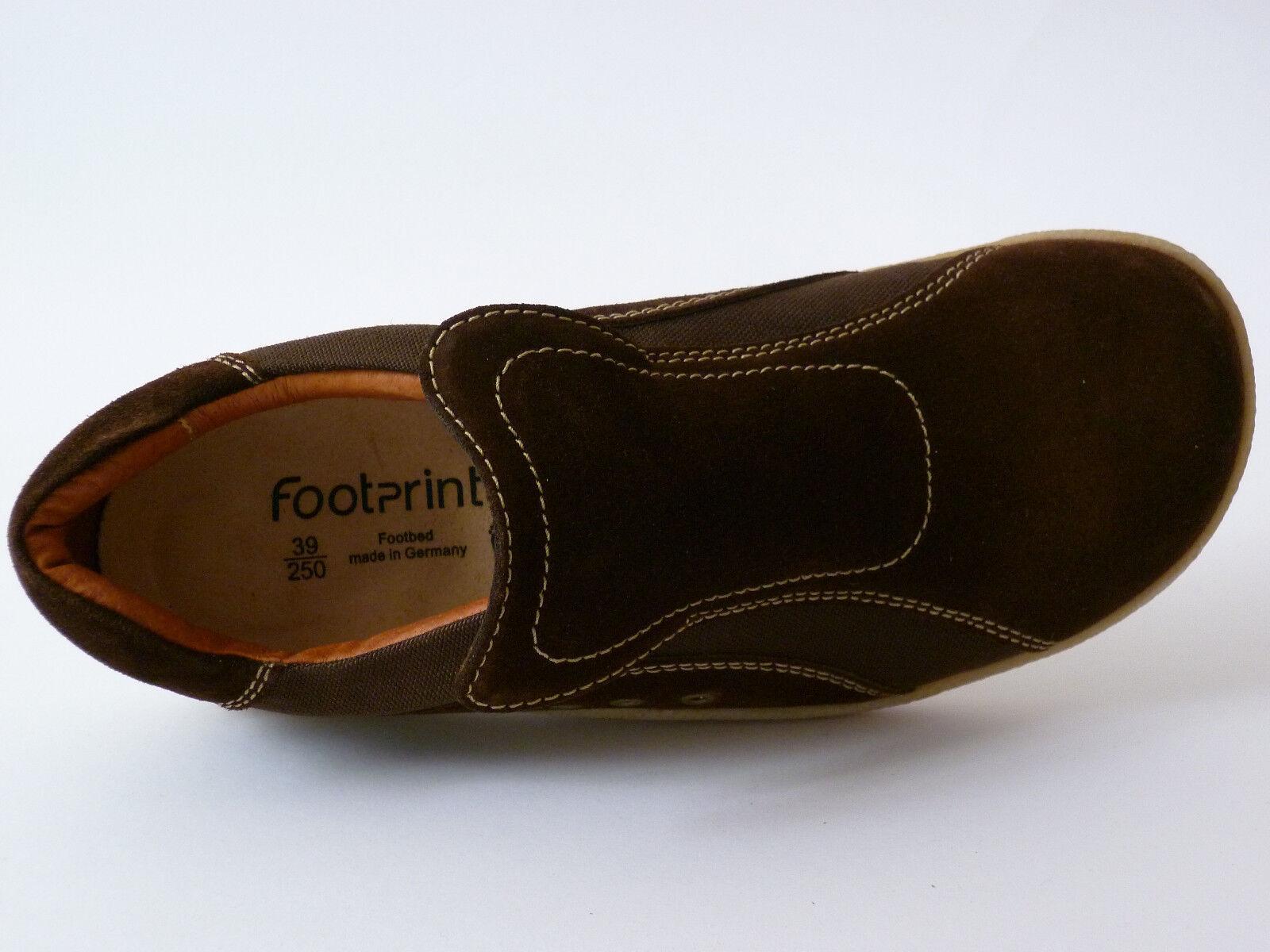 FOOTPRINTS by Til Schweiger Birkenstock FB Sneaker 39 40 41 Braun Mittel NEU