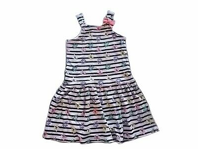 NWT Gymboree Girls Hop N Roll Orange /& Pink Stripe Dress Size 2T 3T 4T /& 5T