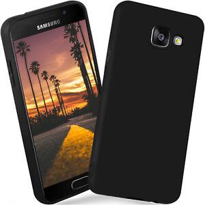 Coque-en-Silicone-pour-Samsung-Galaxy-A3-2016-Etui-Mat-Tres-Mince-Arriere