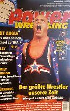 Power Wrestling 11/2006 WWE WWF TNA + 4 Poster (Angle, Sandman, Rey, Kane)