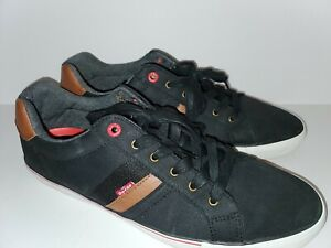 Levi Men's black Comfort Tennis Shoe
