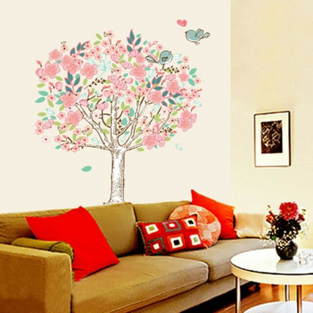 Romantic Big Tree Removable Mural Vinyl Decal Wall Sticker Art Room Home Decor
