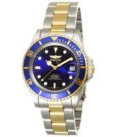 Invicta > Diver Blau/silber/gold Watch Taucheruhr Hau Automatikuhr Automatic Uhr