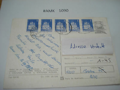 #amk1090 Beleg Brief Postkarte Ganzstück Europa Posta Romana Rumänien