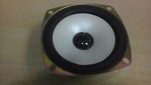 2 pc White 4Ohm 4Ω 15W Full-range Audio Speaker Loudspeaker