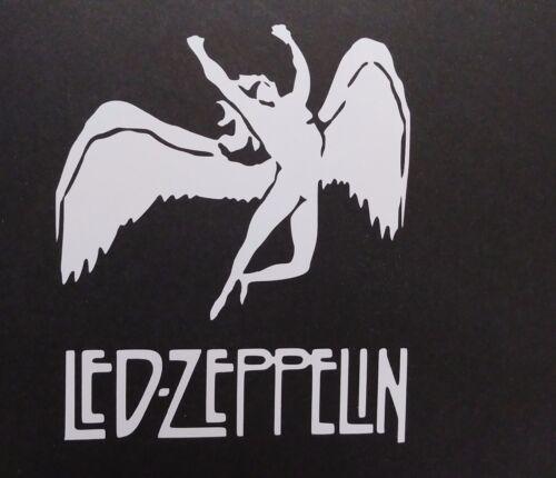 Led Zeppelin Vinyl Decal for laptop windows wall car boat d