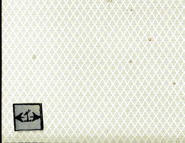 "Brodnax Prints /""Demask Cream /"" 1FL132 miniature wallpaper dollhouse 1//12 scale"