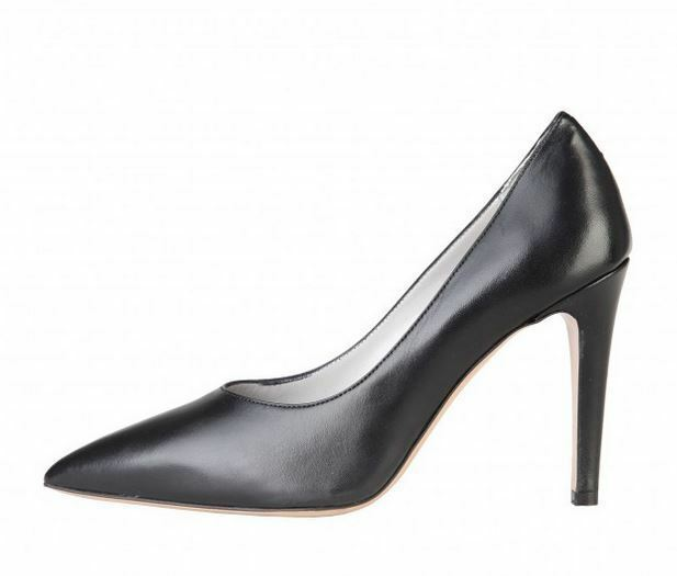 Versace V1969 5551-LID95 schwarz Echtleder High Heels Pumps Gr 36 39