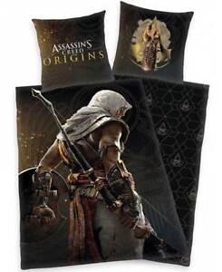 Bettwaesche-Assassins-Creed-Origins-Bettgarnitur-Mikrofaser-cooles-Design