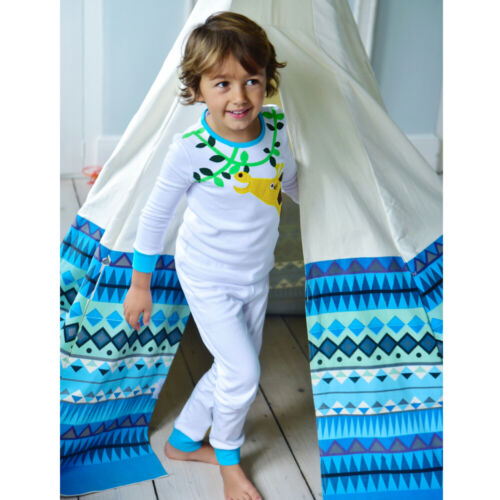 Gorgeous Warm Powell Craft Giraffe Pyjamas 2-3 years Girls Boys Slim Fitting