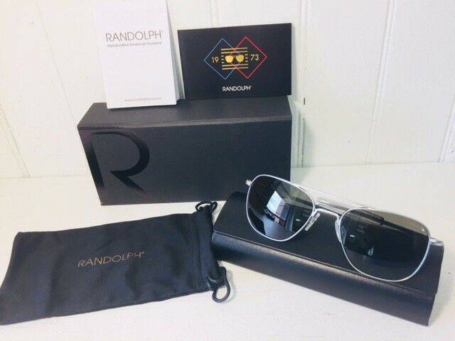 ea02525385 Unisex Sunglasses Randolph Engineering Aviator Polarized Af088 55 for sale  online