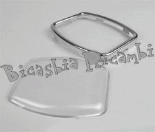 1801 - TRANSPARENT GLAS + RAHMEN KILOMETERZÄHLER VESPA 150 GS VS3T VS4T
