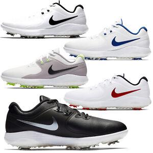 NIKE-GOLF-VAPOR-PRO-Mens-Golfing-Shoes-Cleats-Spikes-White-Black-Blue-PICK-SIZE