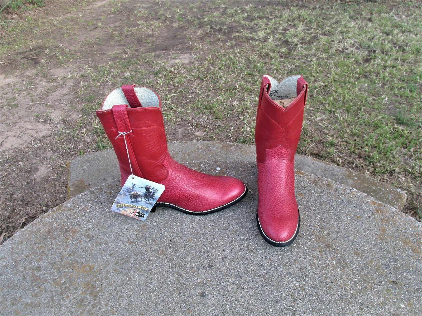 4751ced0 Nuevas JUSTIN Rojo occidental Damas 5' 1 2 D botas ntriqm5377-Botas.  Funtasma HERO - 100 para hombre ...