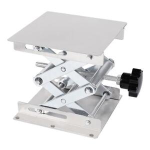 4-034-6-034-8-034-Stainless-Steel-Lift-Platform-Laboratory-Lifter-Stand-Lab-Jack-Scissor