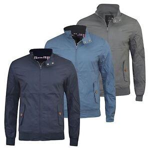 Mens-Harrington-Jacket-Crosshatch-Haronz-MVR-Vintage-Summer-Jacket-Coat