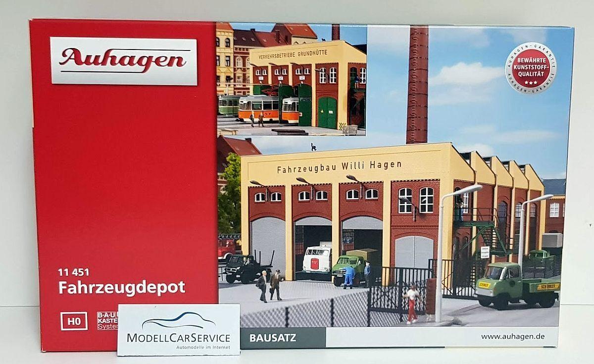 Auhagen 1 87 (H0)  11451 Fahrzeugdepot - - - Bausatz  | Exquisite Handwerkskunst  9da0f4