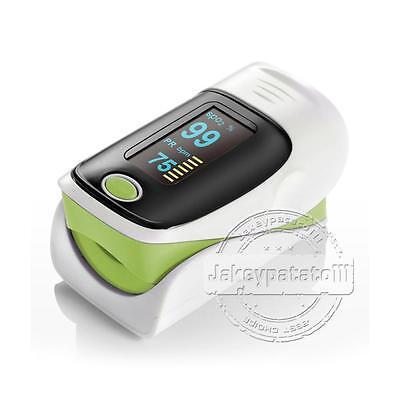 Pulsioximetro LED Sangre Oxímetro de yema/dedo Medidor Profesional SPO2 oxigeno