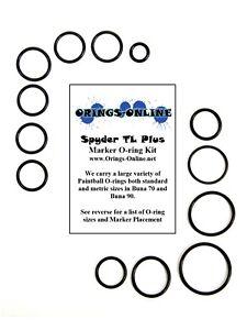 Spyder-TL-Plus-Paintball-Marker-O-ring-Oring-Kit-x-4-rebuilds-kits