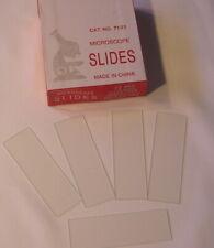 Blank Microscope Slides 3600 Pcs Ground Edges 1x3 Case Of 50 Box 72 Each New