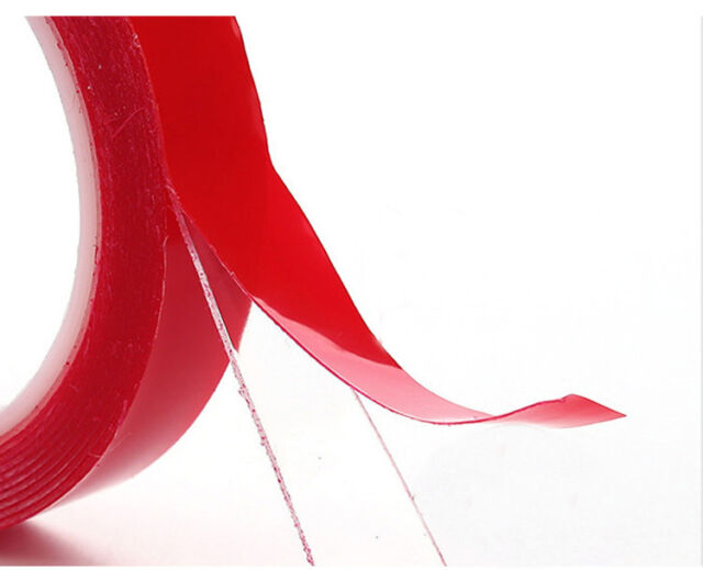 3m x 8mm Double Side Acrylic Foam Tape Adhesive for car bumper sticker F2