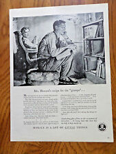 1943 Beer Morale Ad Mrs Howard's Recipe for the Grumps