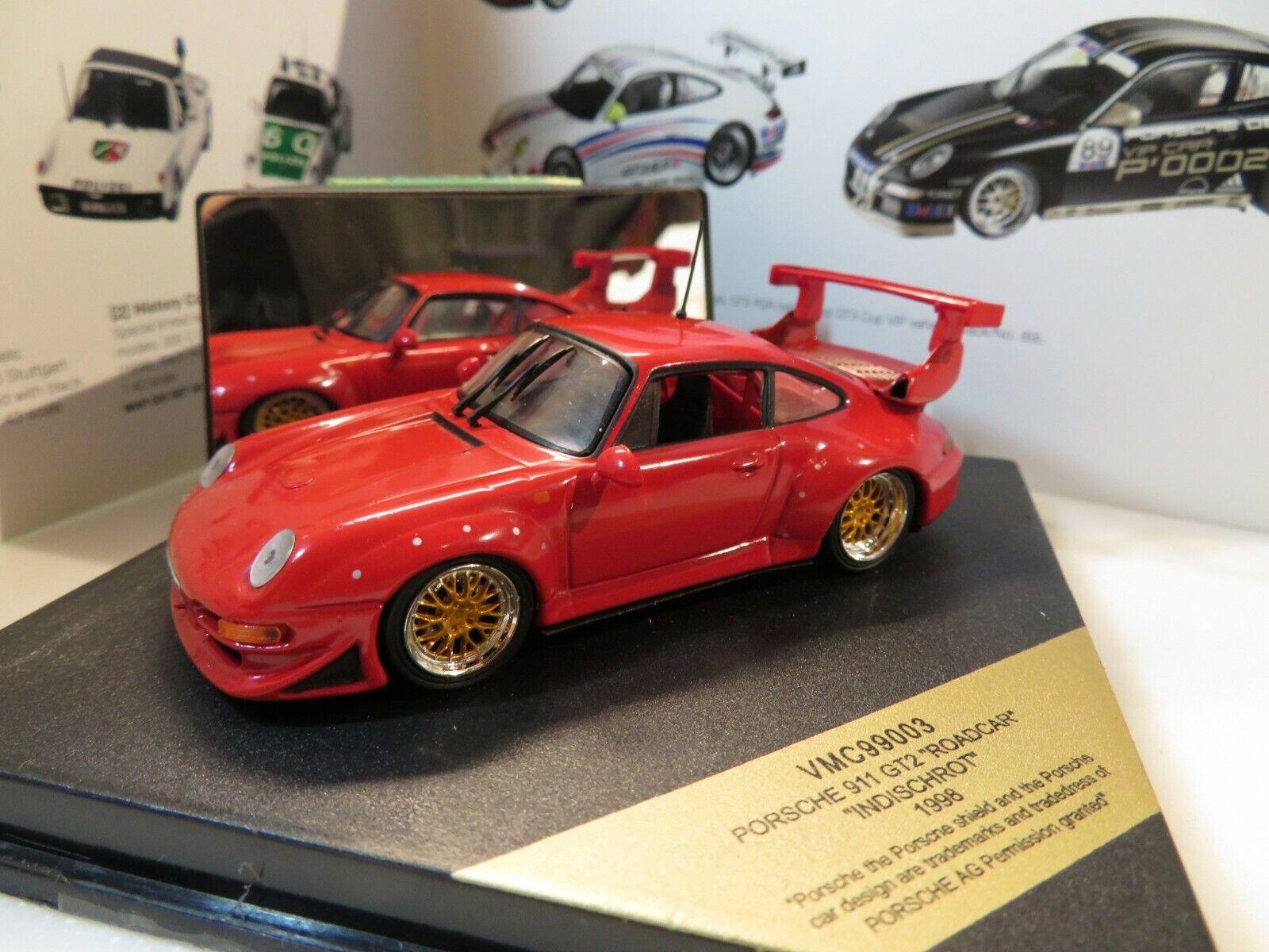 1 43 VITESSE PORSCHE 911 GT2 (1998) Diecast