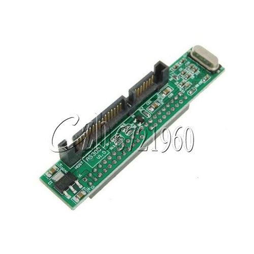 "2.5"" IDE HDD Drive Female 44Pin to 7+15Pin Male SATA Adapter Converter Card"