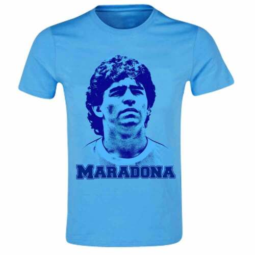 SSC NAPOLI /& Boca Juniors Legend T-Shirt Diego Maradona Argentine